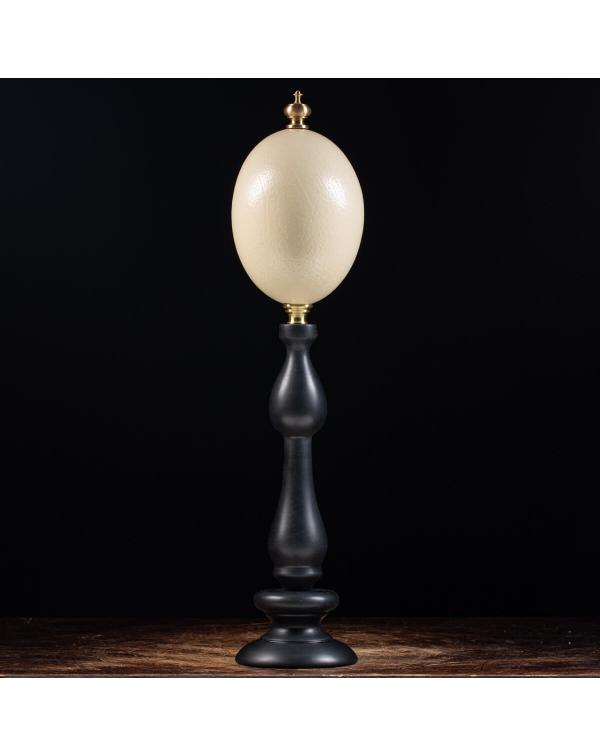Ostrich Egg on pedestal
