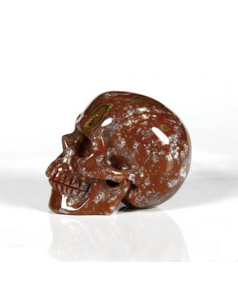 Indian Agate Skull