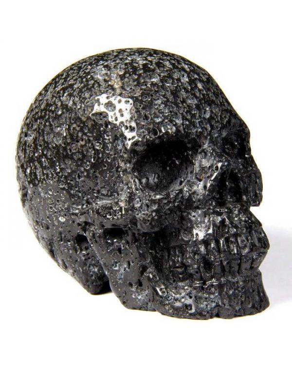 Hot Lava Stone Skull