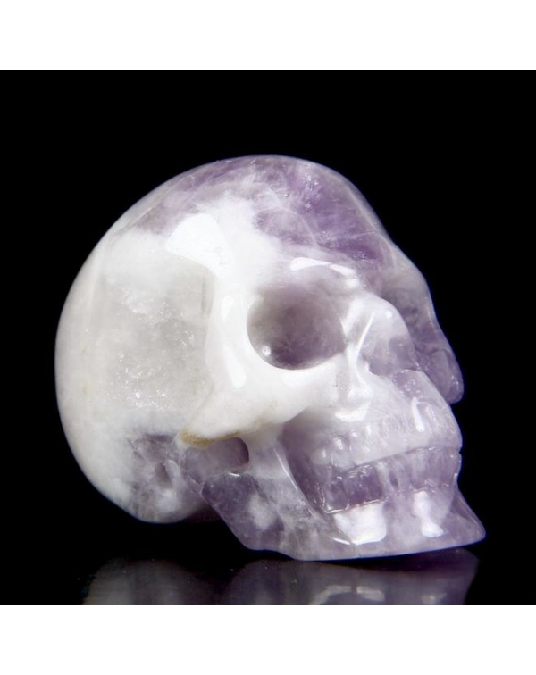Amethyst Skull