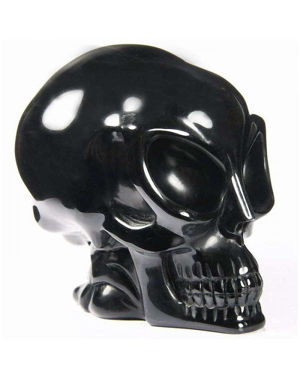 Alien Obsidian Skull