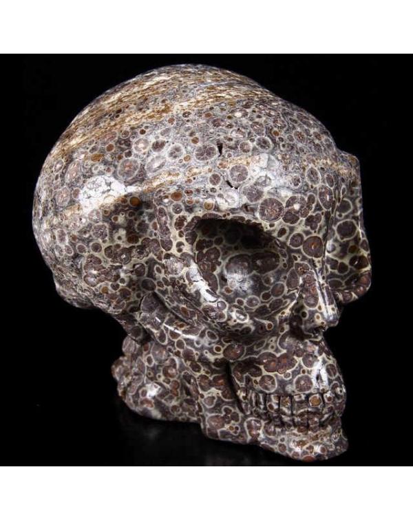 Jasper Alien Skull