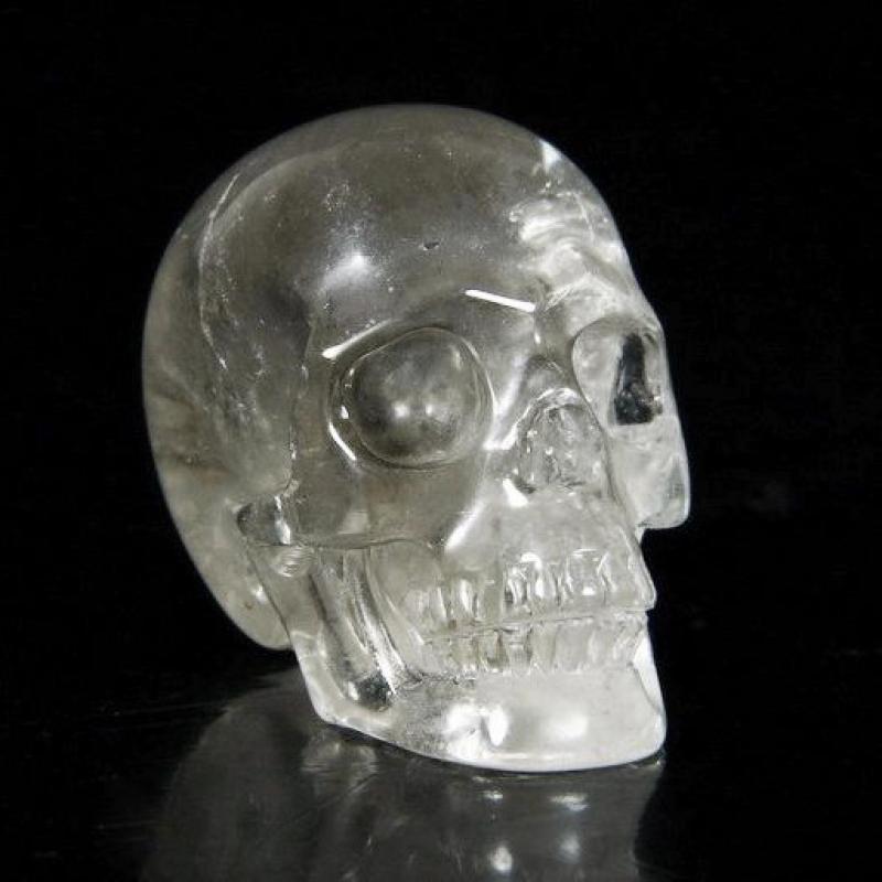 Smoky Quartz Skull