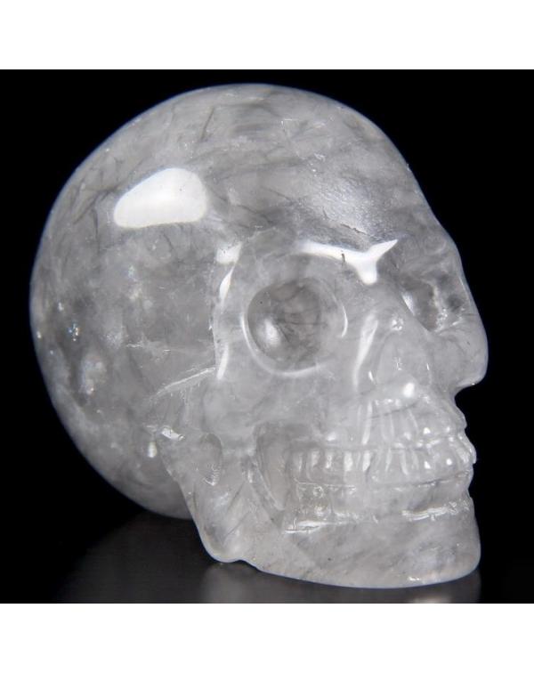 Gray Quartz Skull