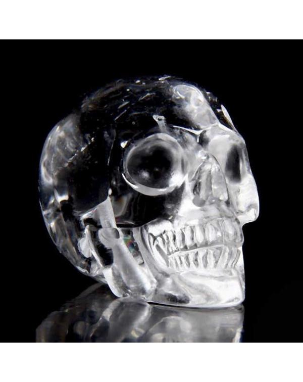 Clear Quartz Skull