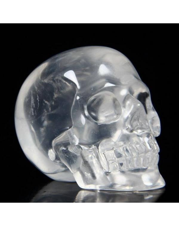 Milky Quartz Skull
