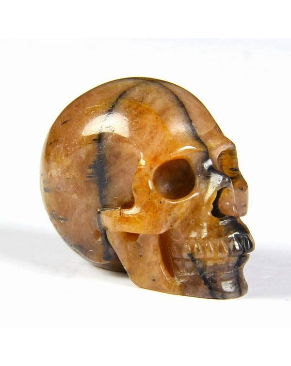 Chiastolite Skull