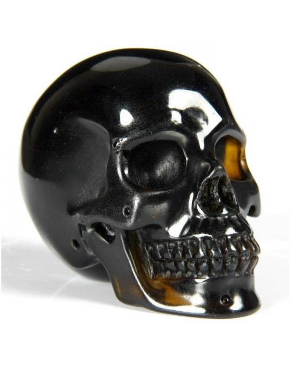 Black Quartz Skull
