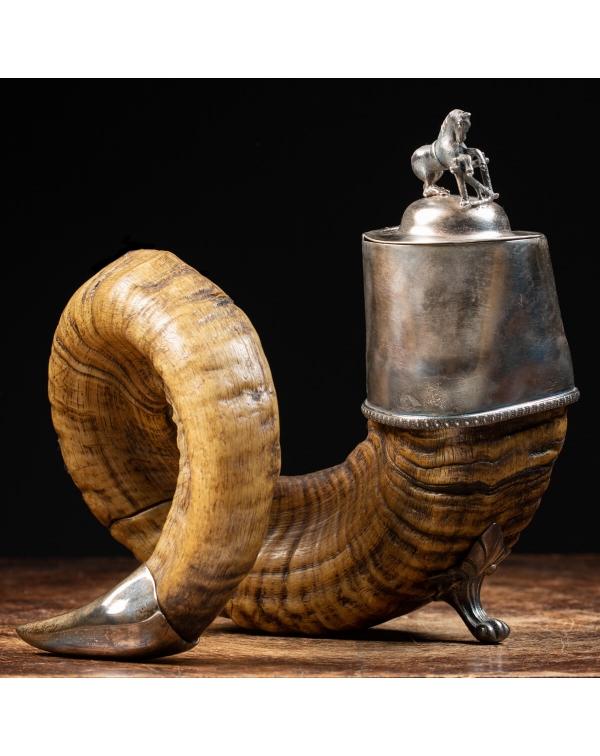 Antique Scottish Tobacco Horn