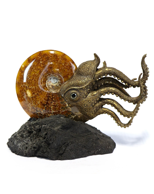Ammonite Sculpture