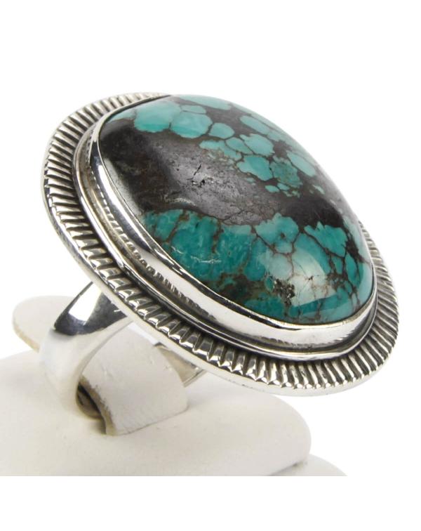Turquoise Tibet Ring