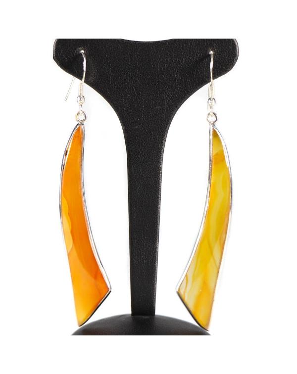 Honey Agate Earrings