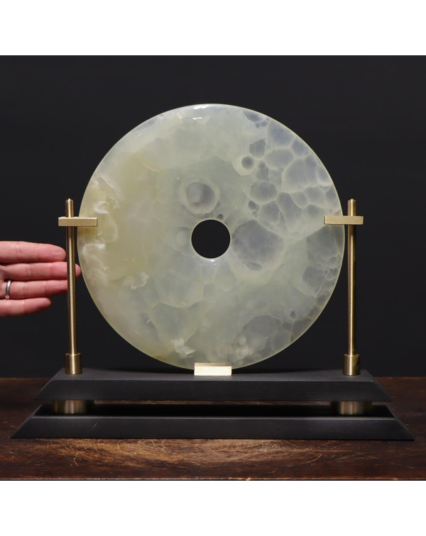 Disk of White Aragonite