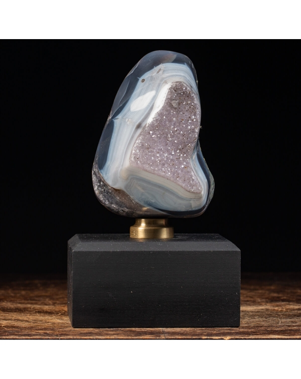 Agate and Amethyst Geode