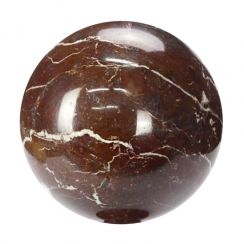 Rosso di Levanto Marble Spheres (1)