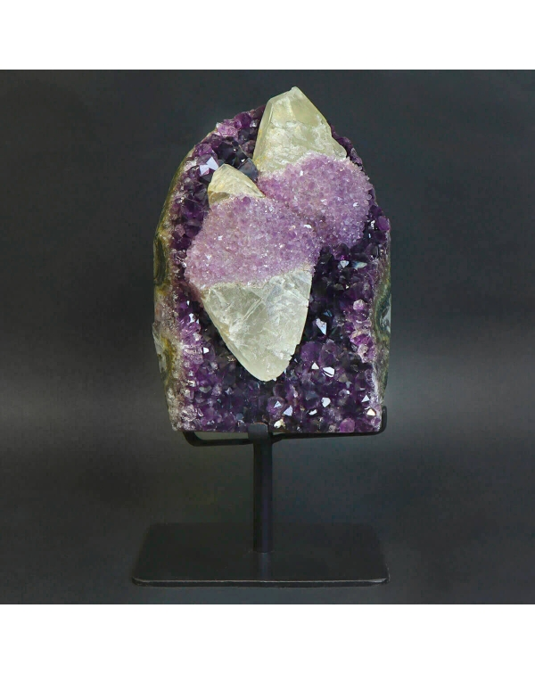 Amethyst Geode with Quartz