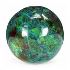 Chrysocolla Spheres (4)