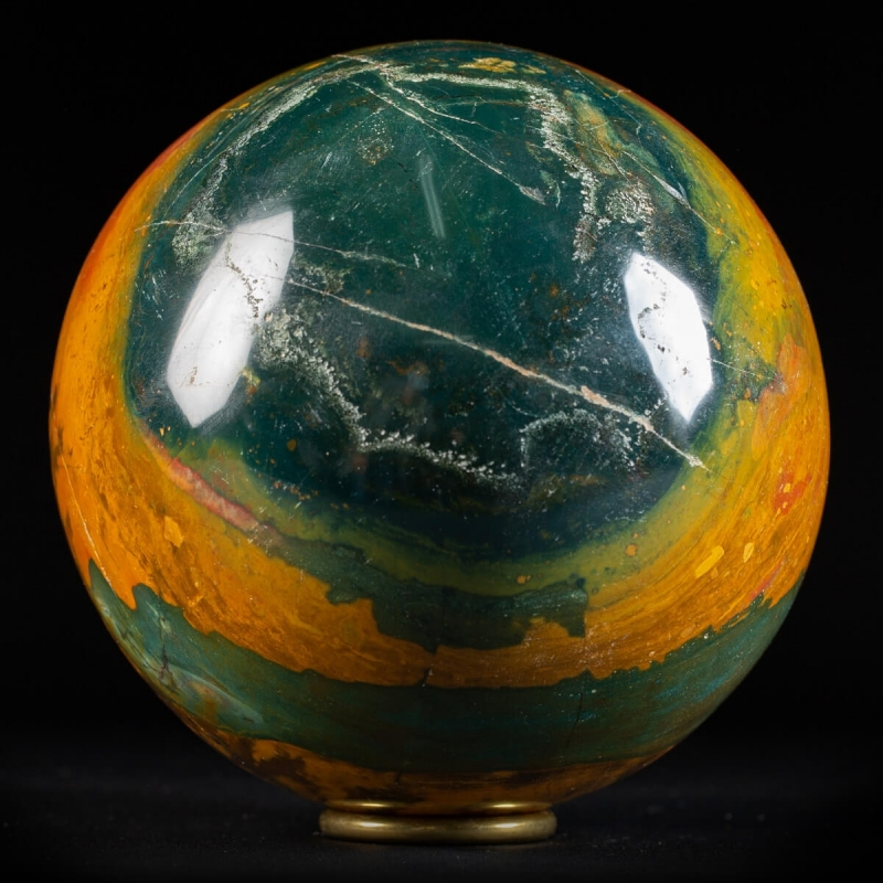 Tiger Jasper Sphere