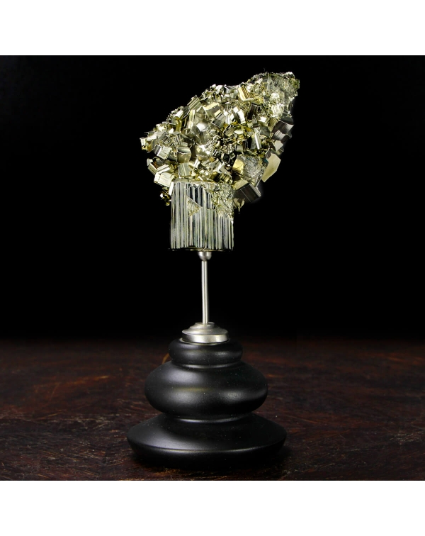 Pyrite on pedestal