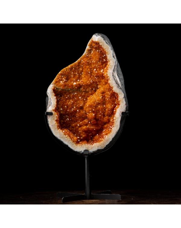 Citrine Quartz Geode