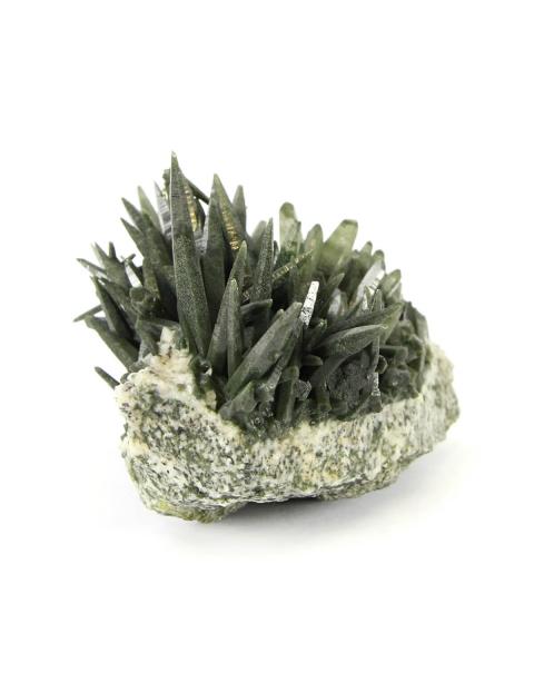 Quartz Cluster with Chlorite