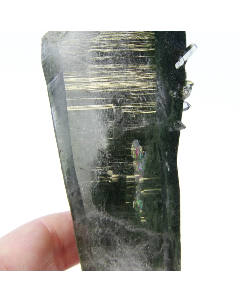 Lemurian Quartz with Chlorite