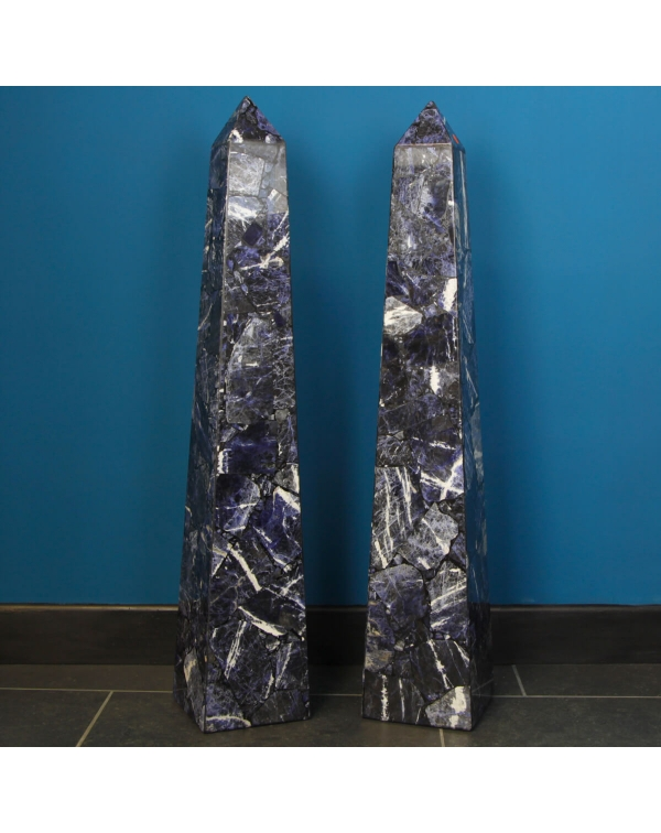 Sodalite Obelisks