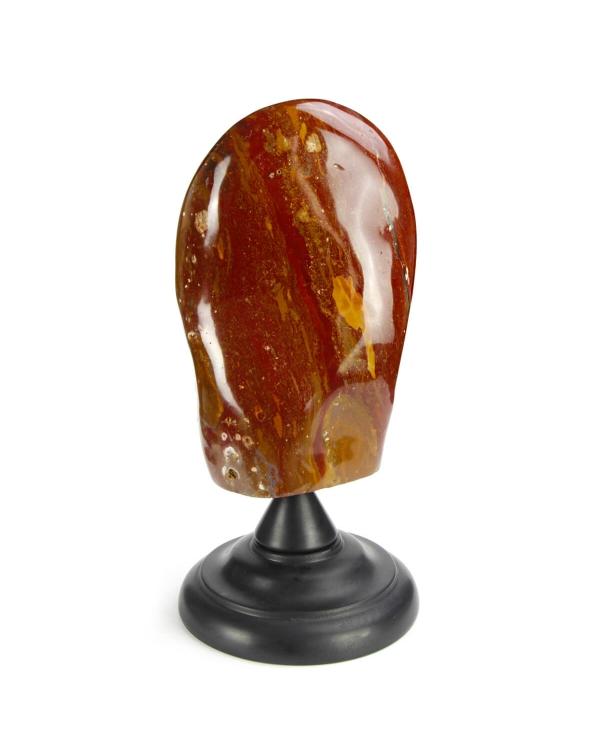Red Jasper on pedestal