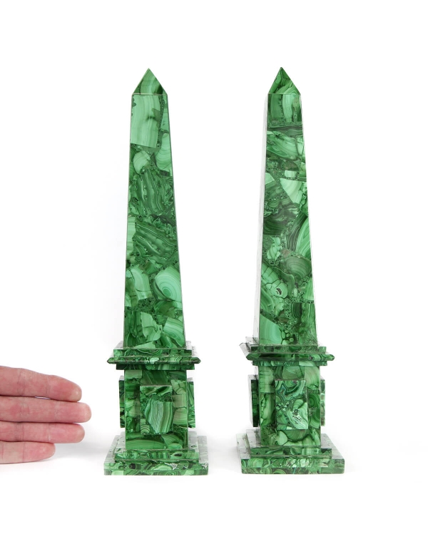 Malachite Obelisks