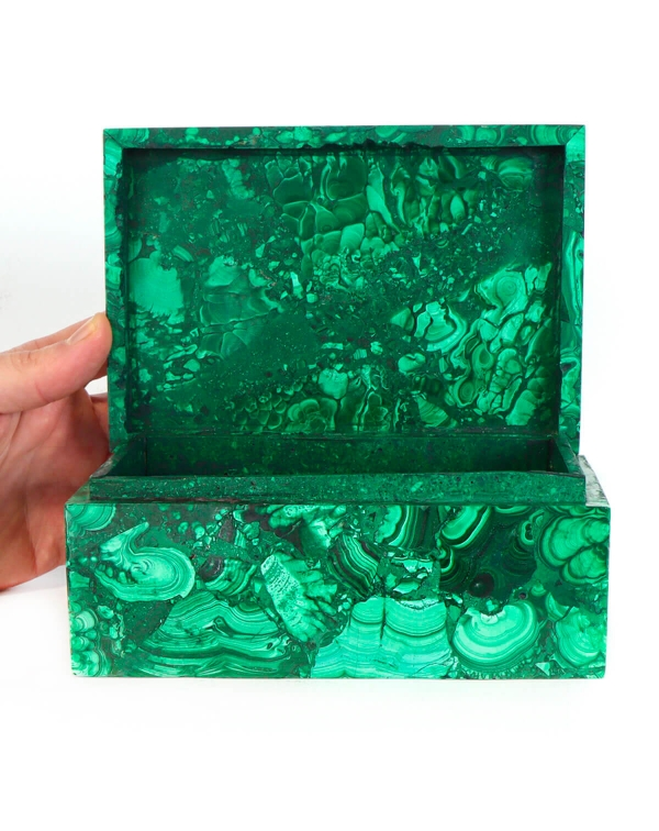 Malachite Jewelry Box