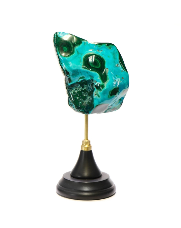 Malachite Chrysocolla on Pedestal