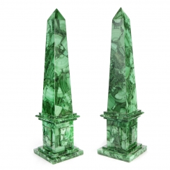 Malachite Obelisks (2)