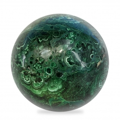 Malachite Spheres (3)