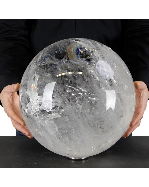 Giant Quartz Sphere