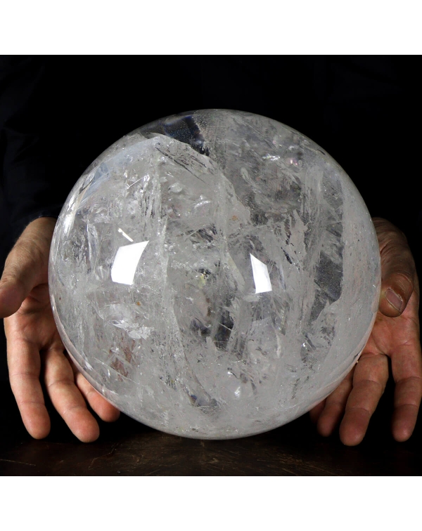 Large Quartz Sphere