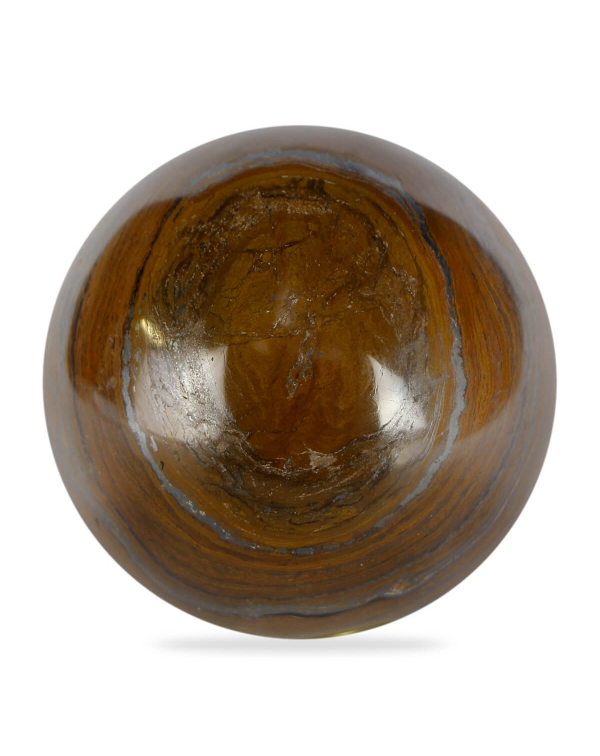 Sphere in Tiger Iron