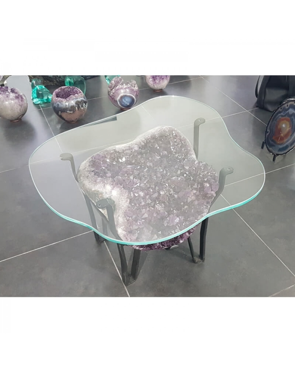 Amethyst Druze Table