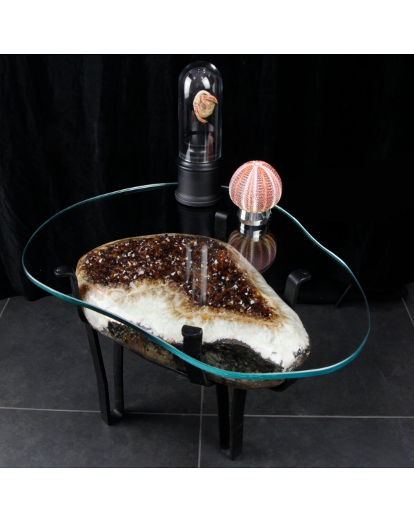 Citrine Quartz Table