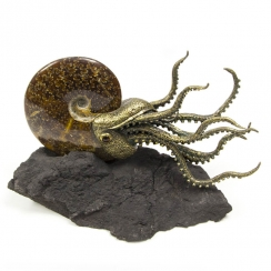 Sculptures with Fossils (5)
