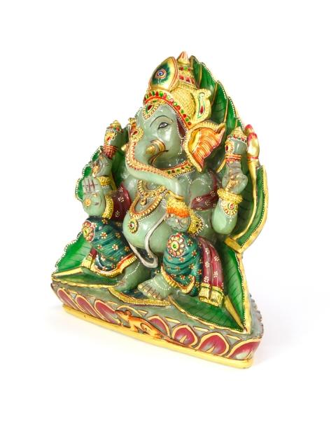 Ganesh Statue Aventurine Stone (9.5Kg)