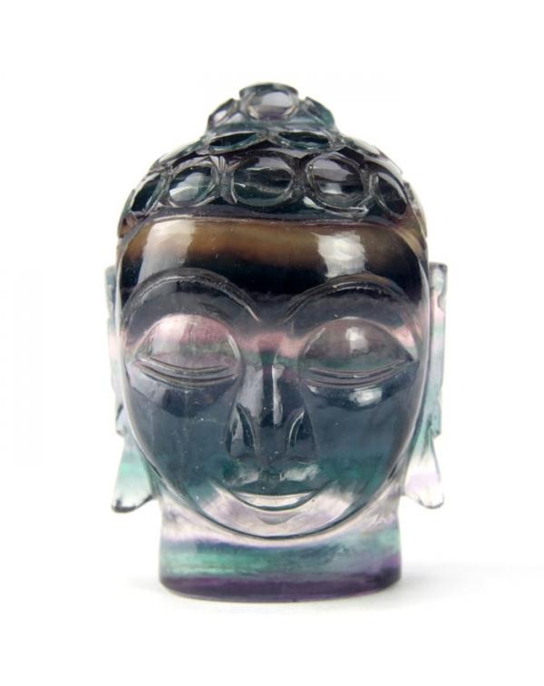 Fluorite Buddha Statue (115g)