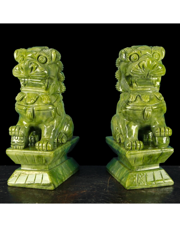 Imperial Guardian Lions Statues