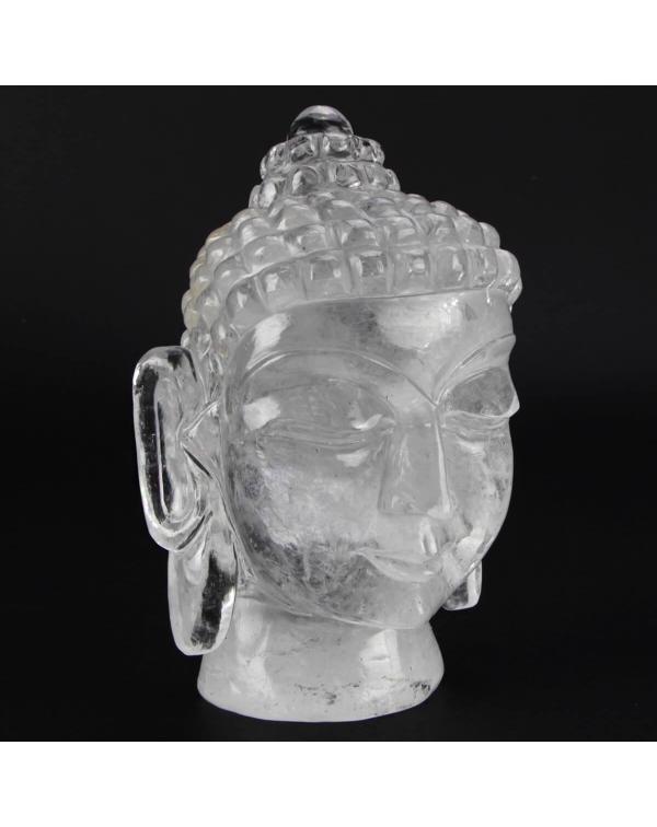 Buddha Statue Hyaline Quartz (1.25kg)