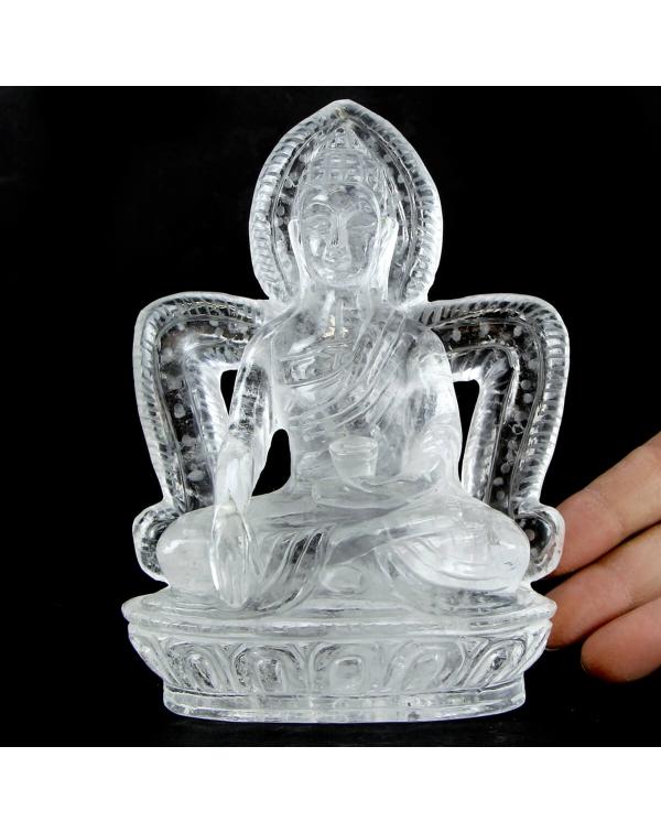 Quartz Buddha Statue (926g)
